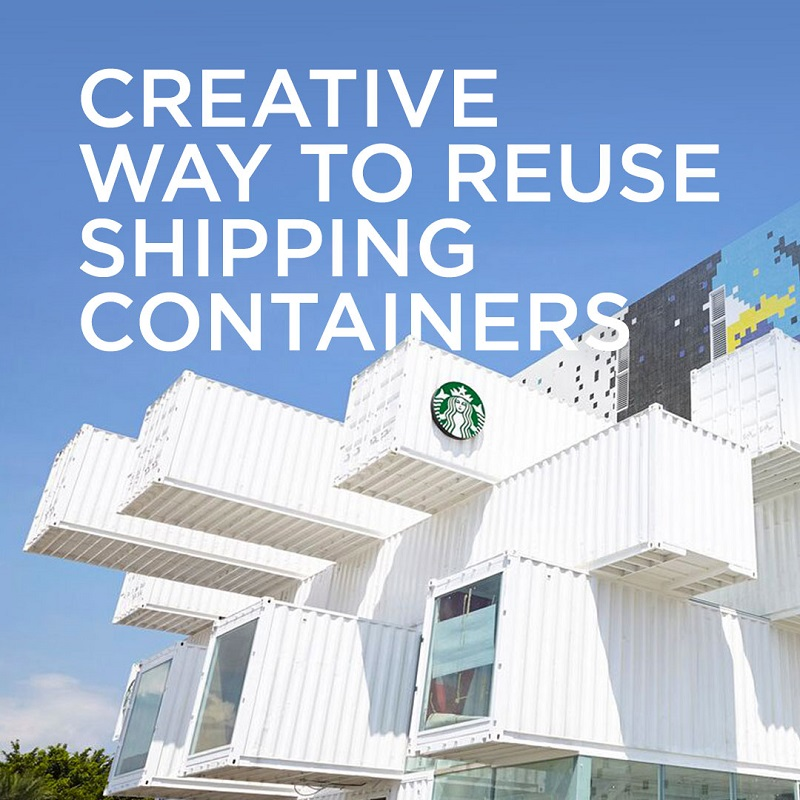 Creative Way to Reuse Shipping Containers