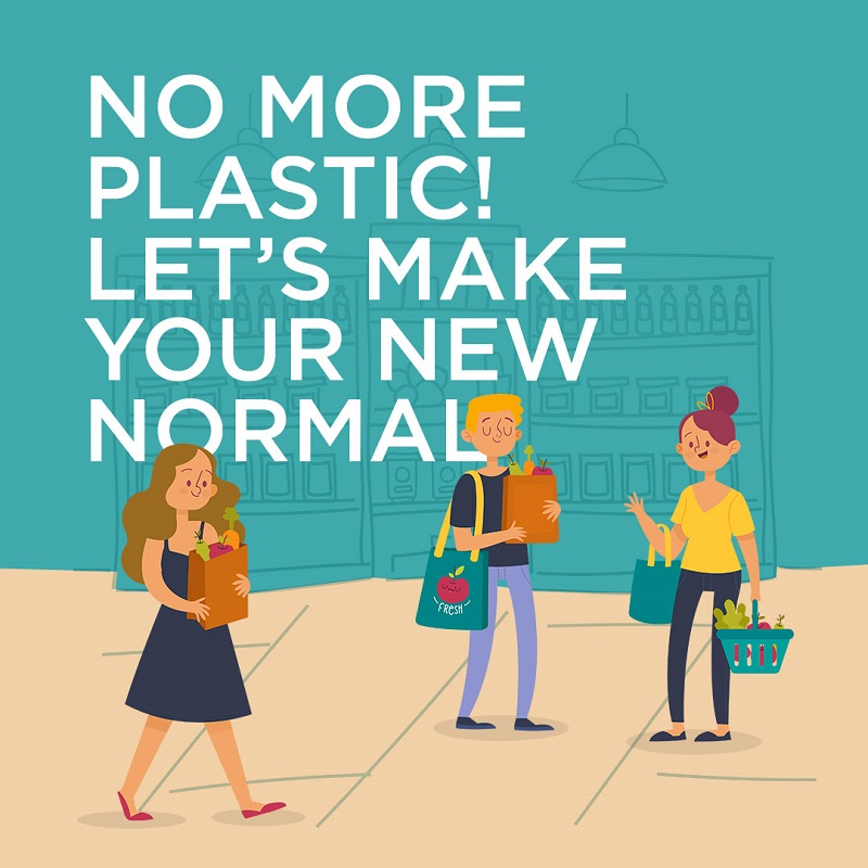 No More plastic! Let's Make Your New Normal.