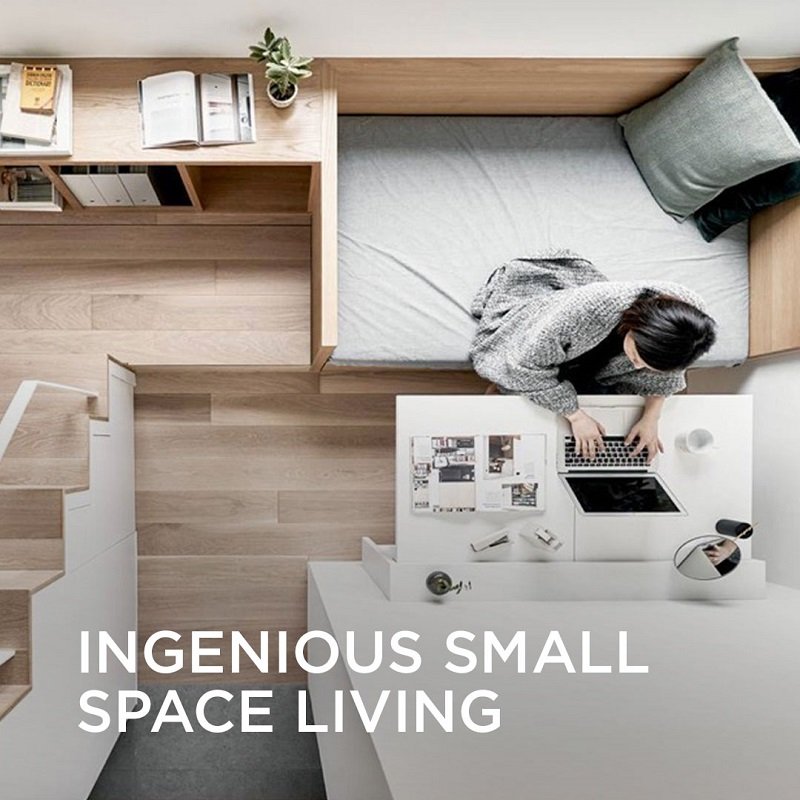 Ingenious Small Space Living